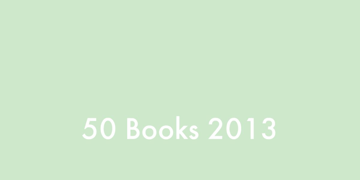 50 Books 2013: Update [2]