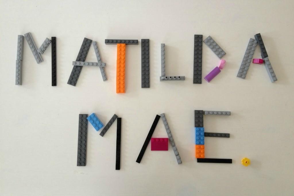 In memory of Matilda Mae