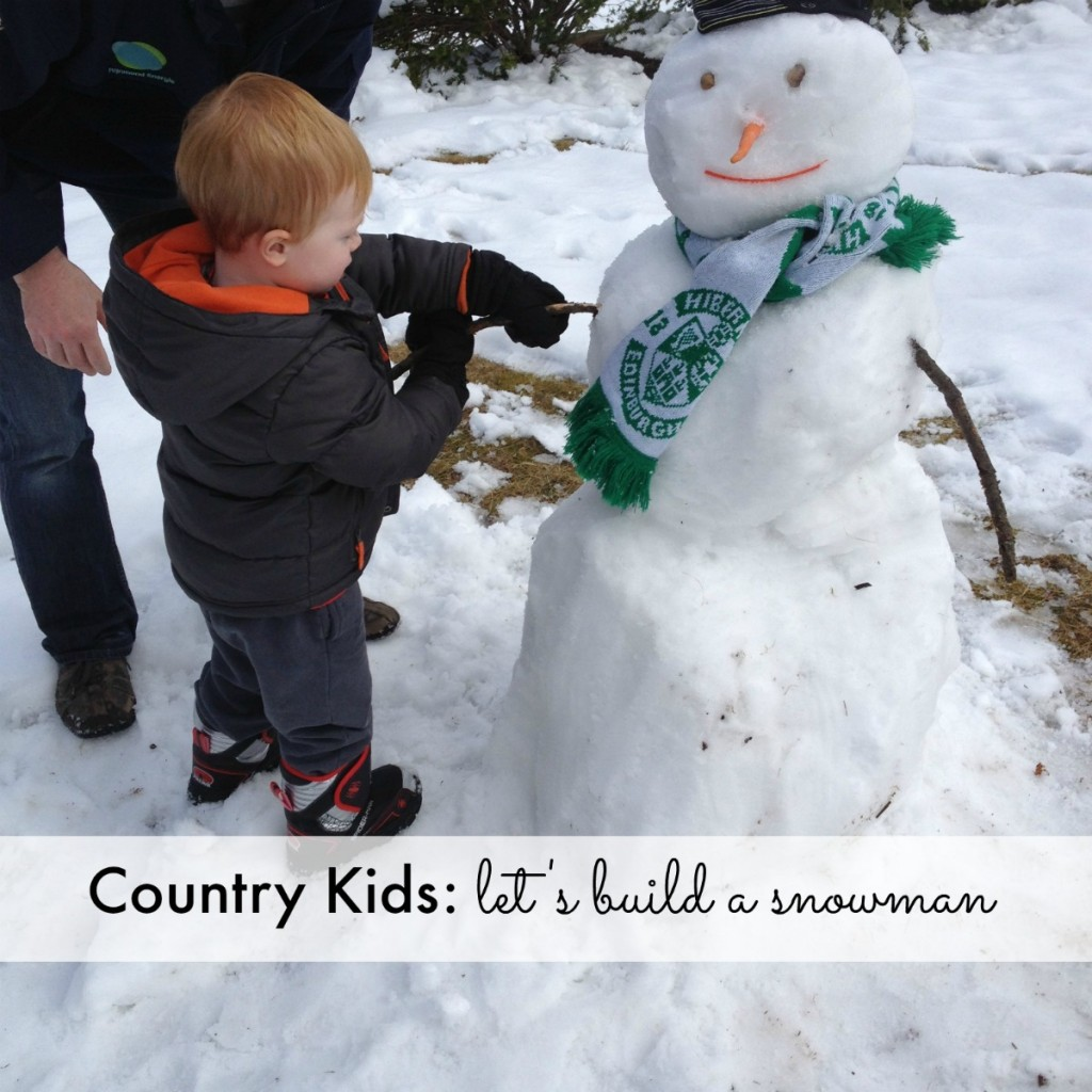 Country Kids Lets Build a Snowman