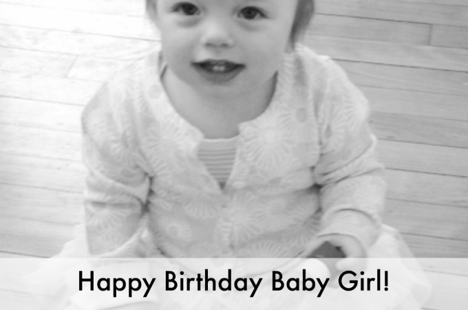 Magic Moments: Happy Birthday baby girl!