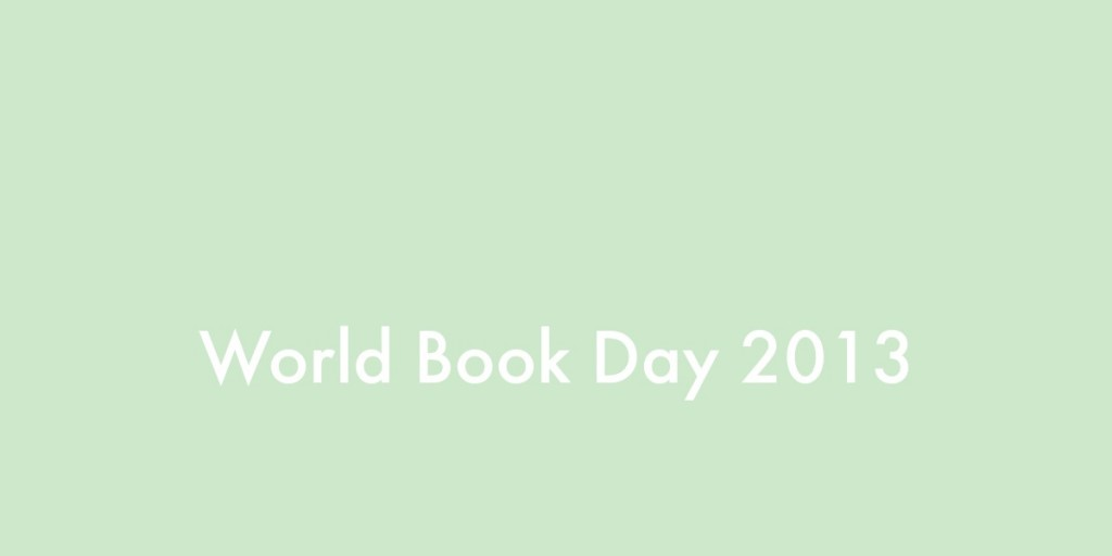 Wold Book Day 2013