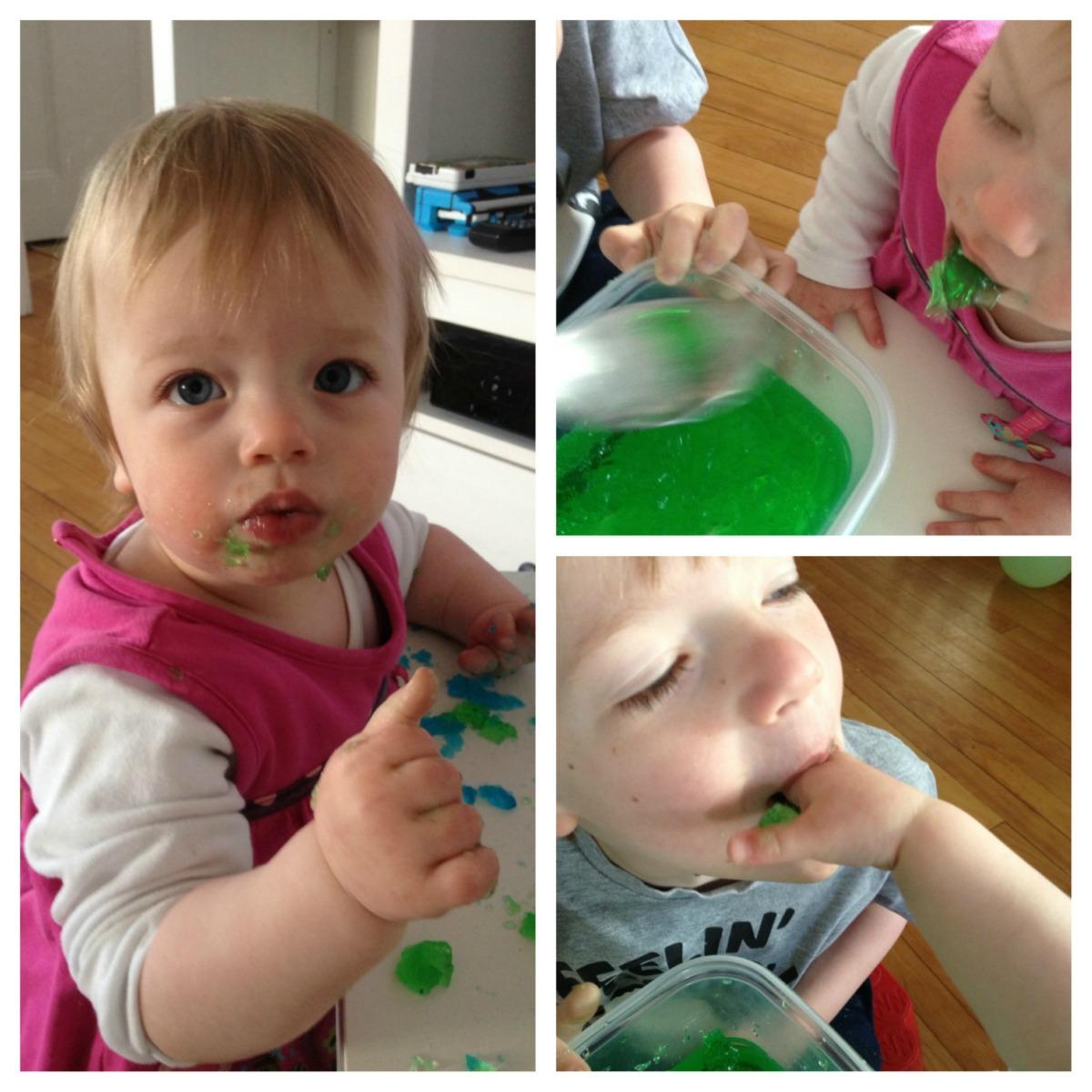 7. Feeding the Jello