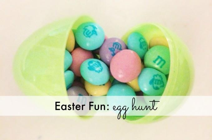 Easter Fun: egg hunt