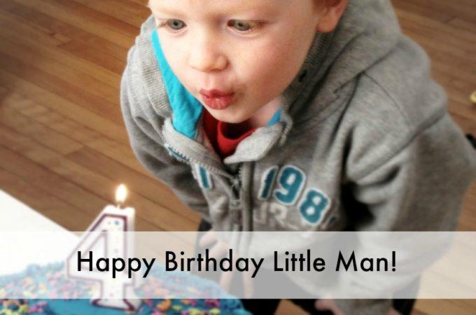 Happy Birthday Little Man!