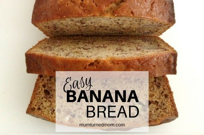 Bake: easy banana bread