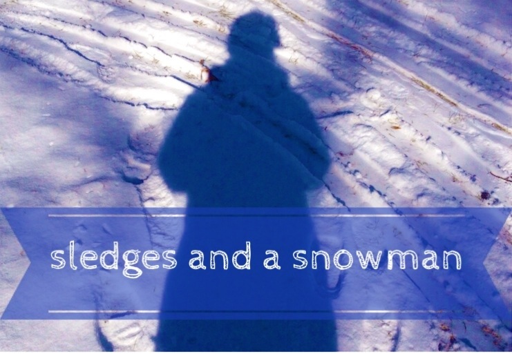 #CountryKids – a sledge and a snowman