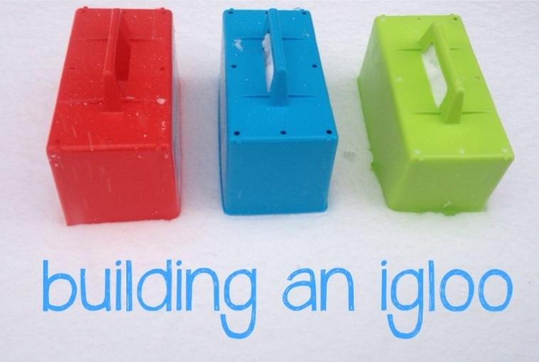 #CountryKids – building an igloo