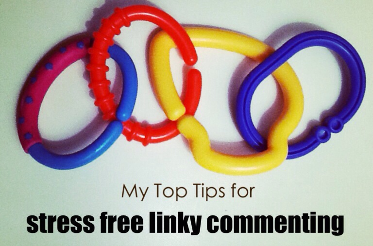 My Top Tips for stress free linky commenting