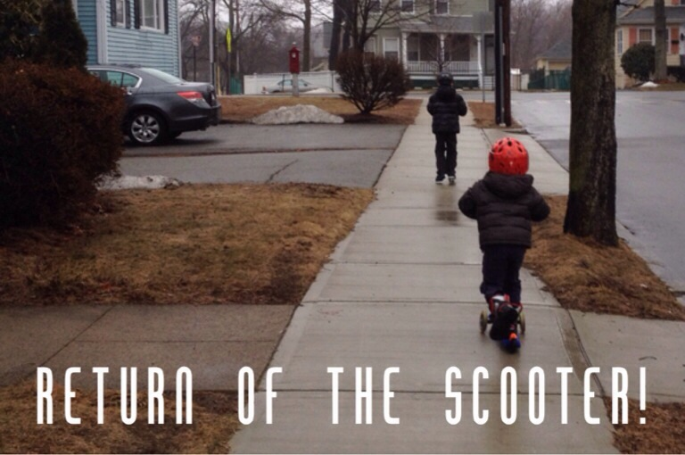 #CountryKids – return of the scooter!