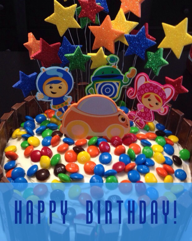How To Make A Team Umizoomi Birthday Cake
