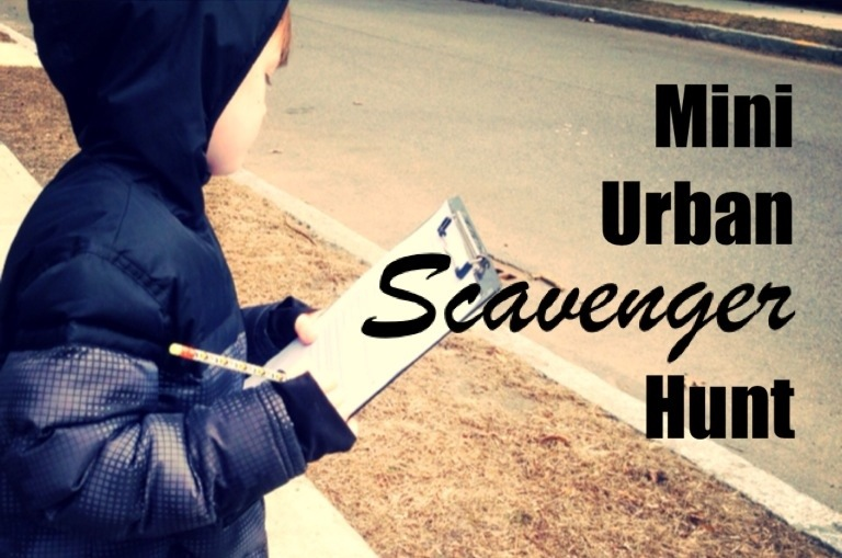 Country Kids: a mini urban scavenger hunt