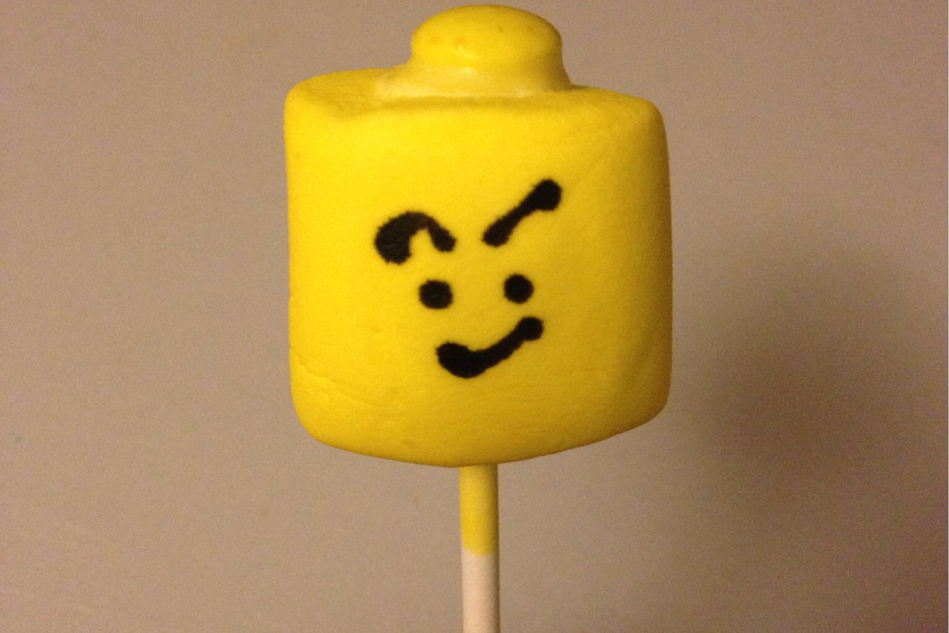 lego cake pops how to make