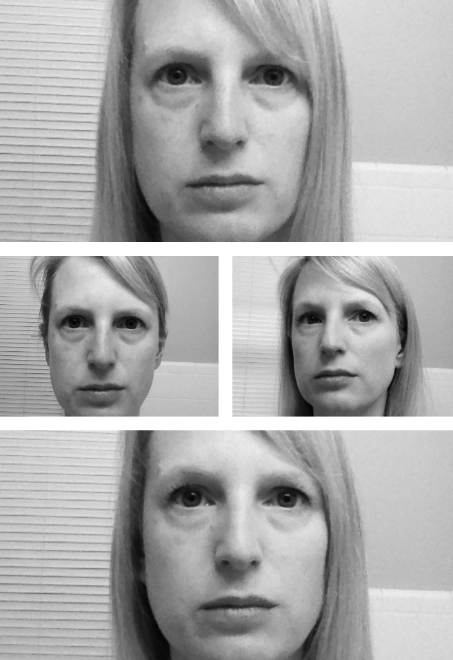 Faces Black and White