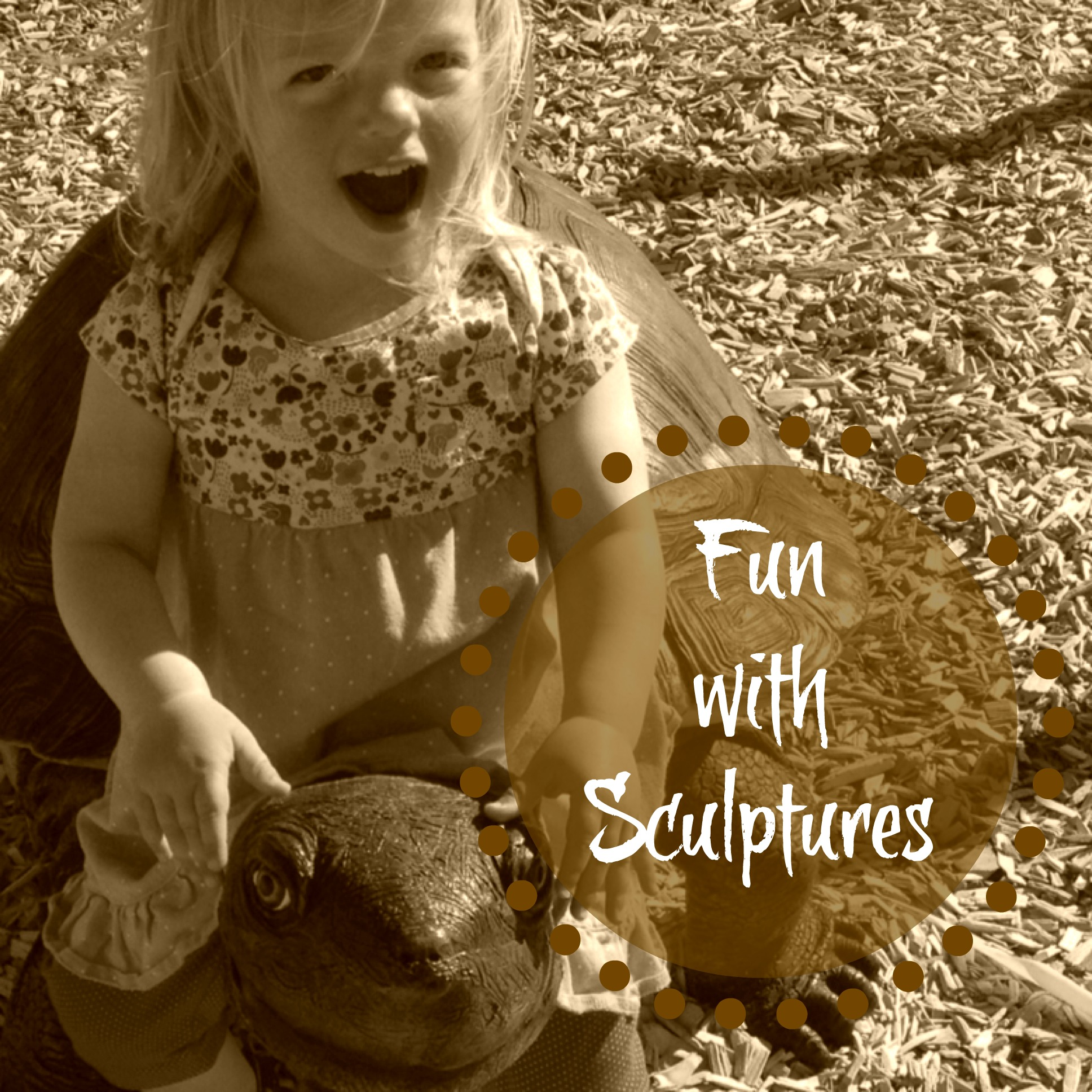 Country Kids: fun with sculptures