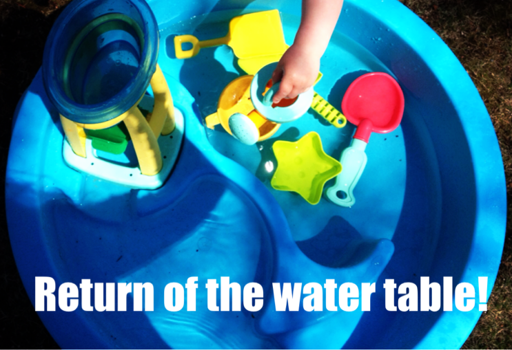 Country Kids: return of the water table