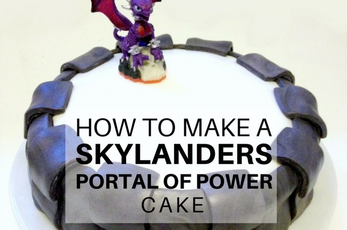 How to make a Skylanders Portal of Power Cake - Featured Image