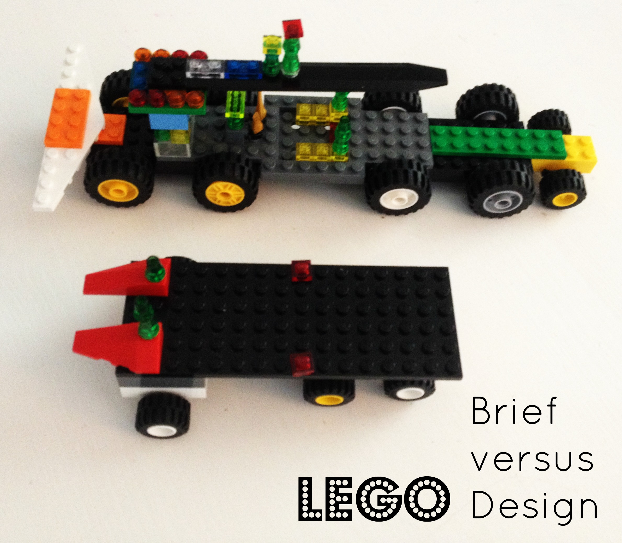 Lego: Brief versus Design