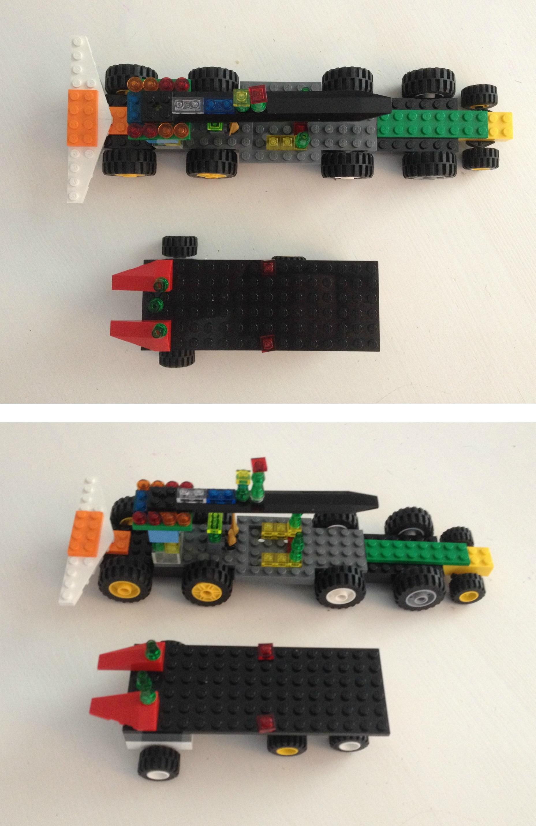 Lego: Brief versus Design