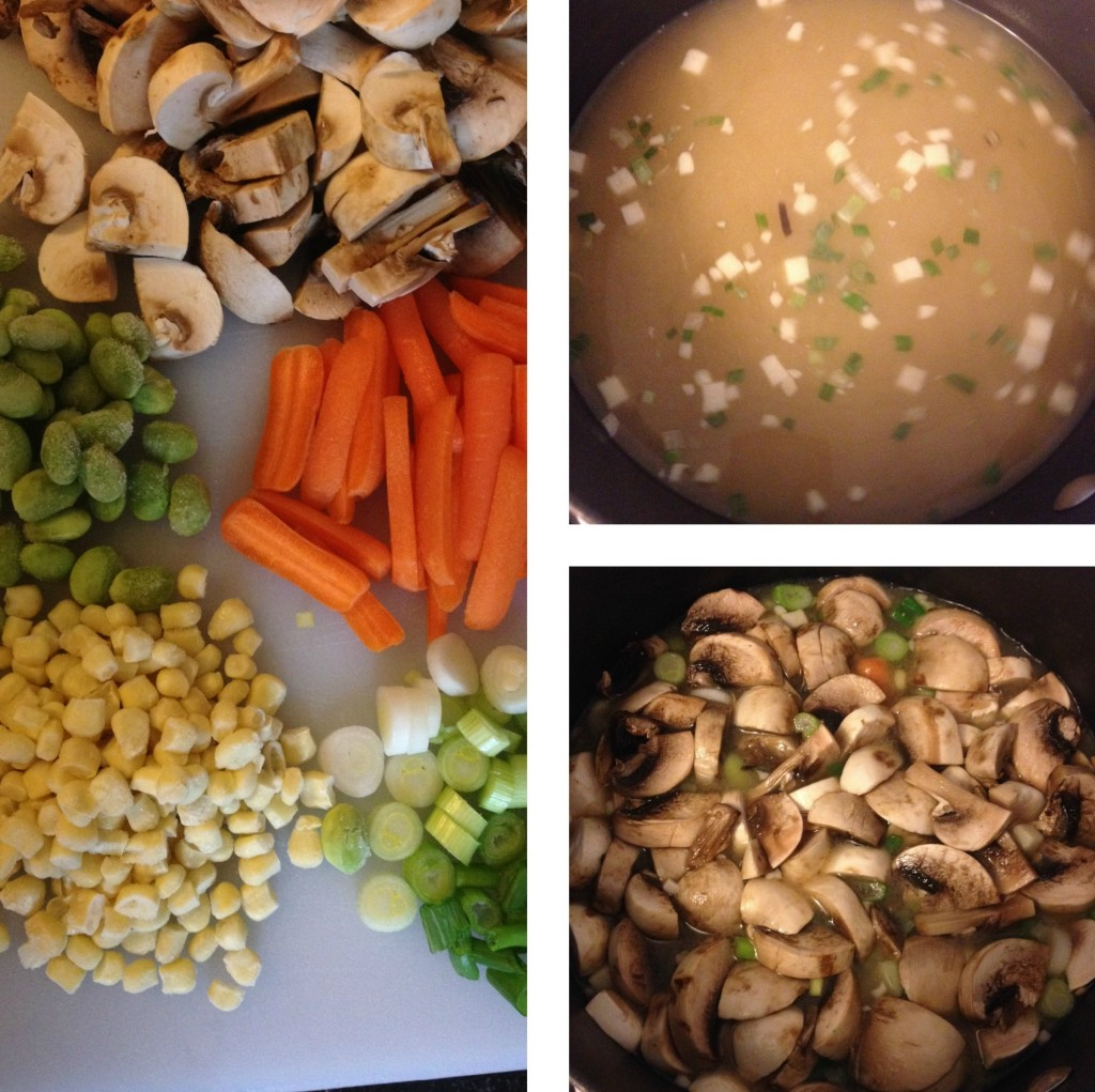 Miso Soup Preperation