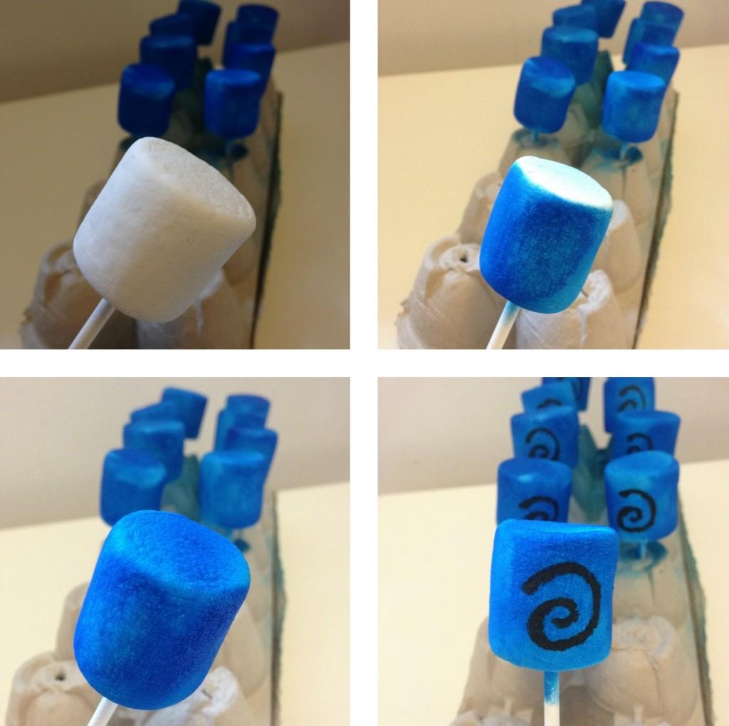 Skylander Marshmallow Pops 1