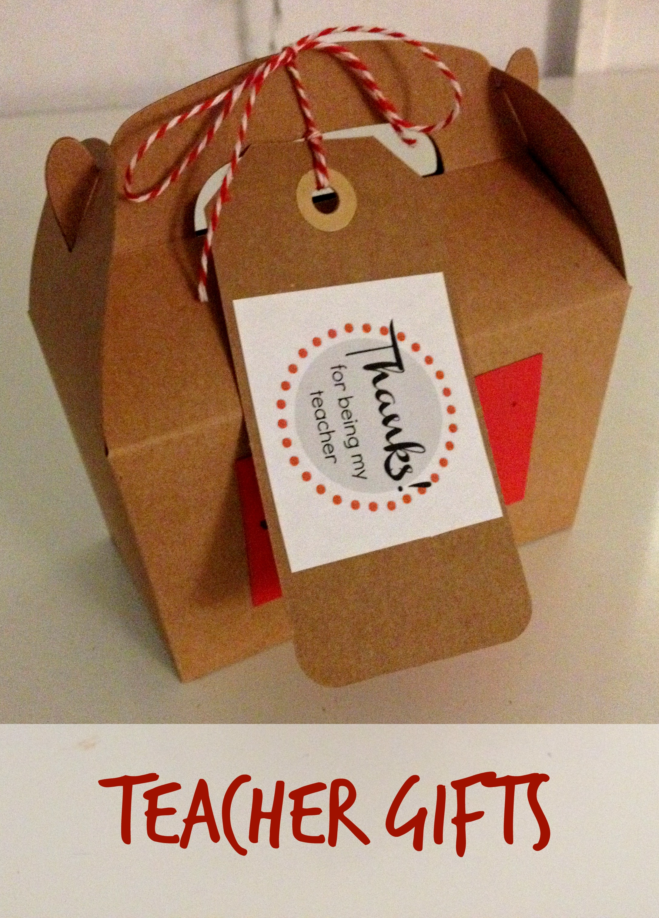 Make: End of Year Teacher Gifts