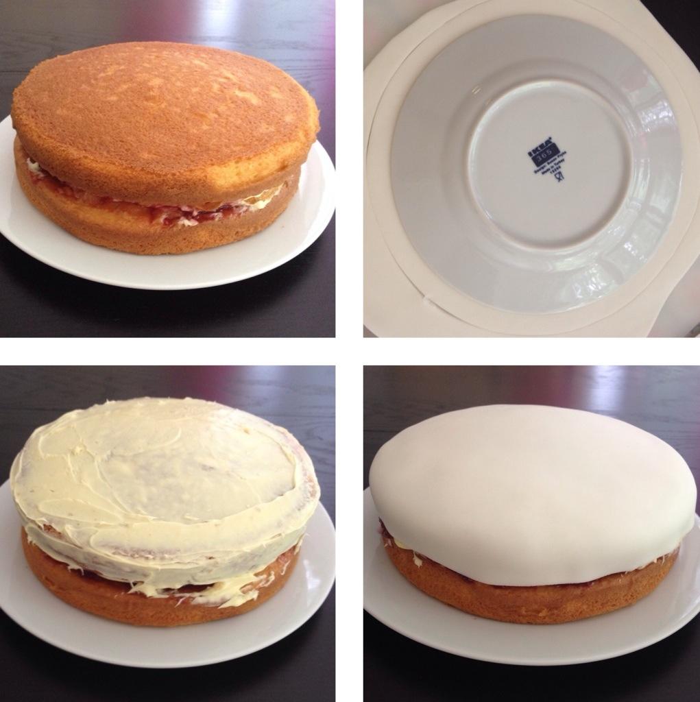 Bake: flower garden cake