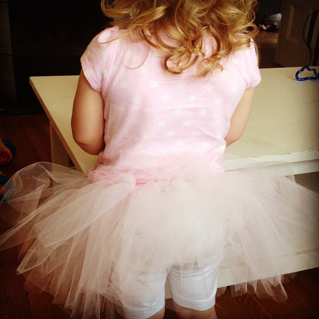 Today is all about a tutu :)