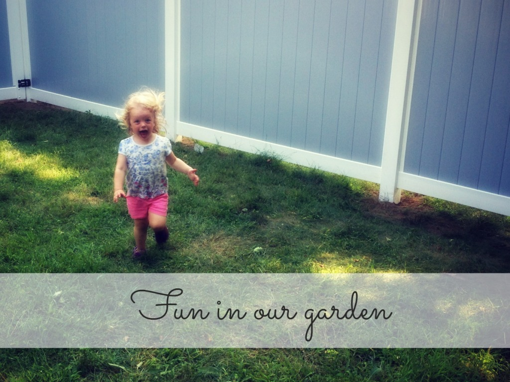Fun in our garden