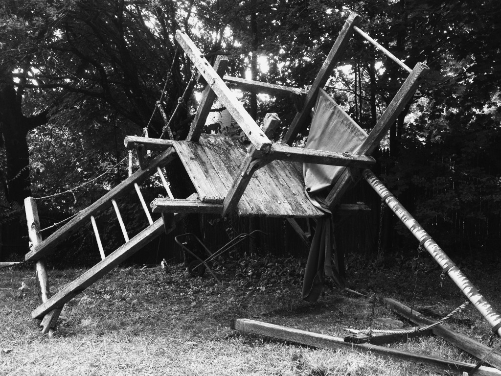 Old Play Structure