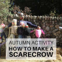 Autumn Activity - How to make a scarecrow - Related