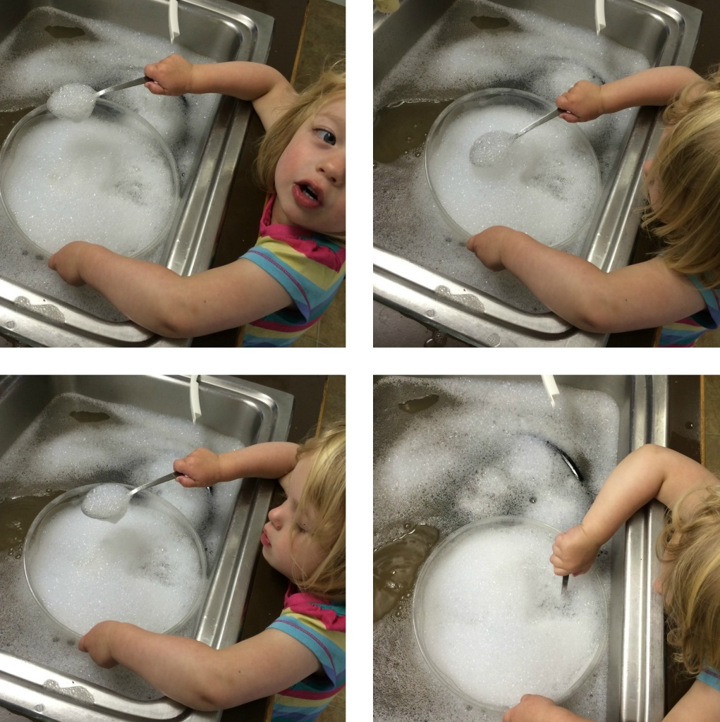 Playing in the sink 1