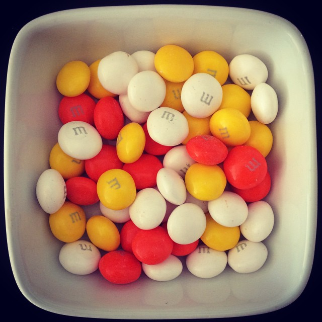 I really do love seasonal M&Ms!