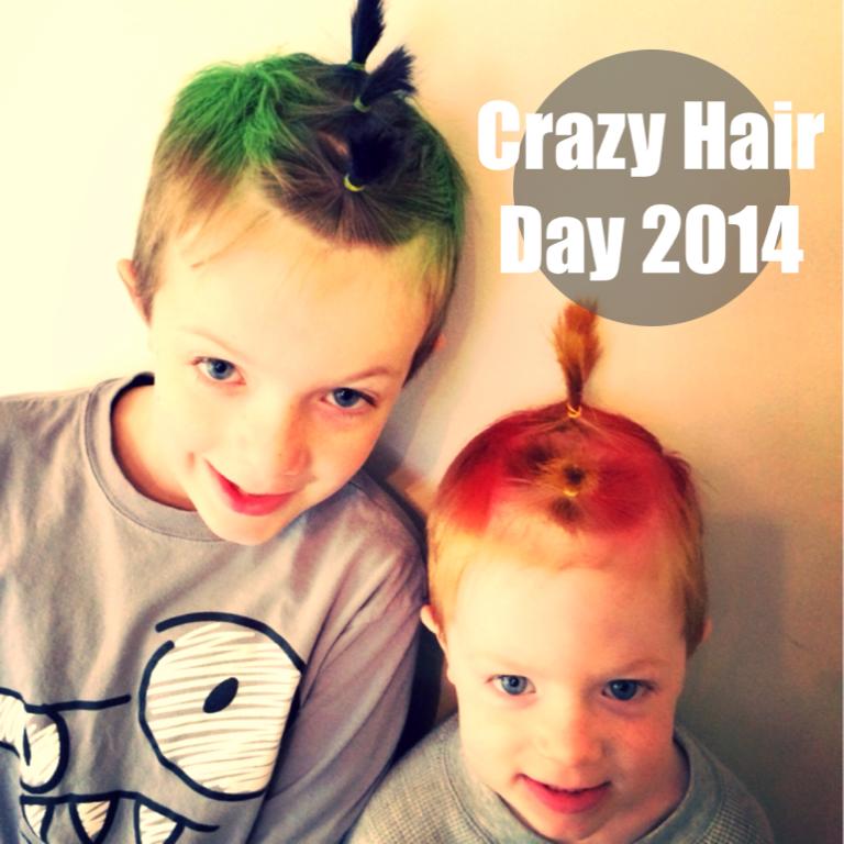 Crazy Hair Day 2014