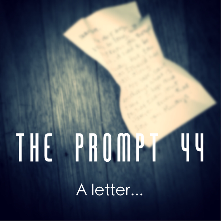 The Prompt: a letter