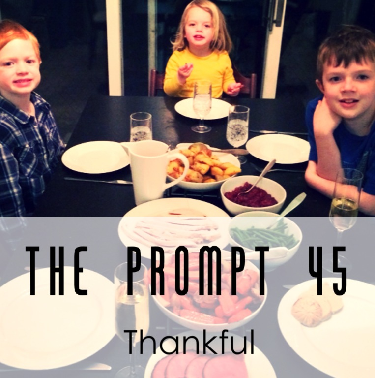 The Prompt: thankful