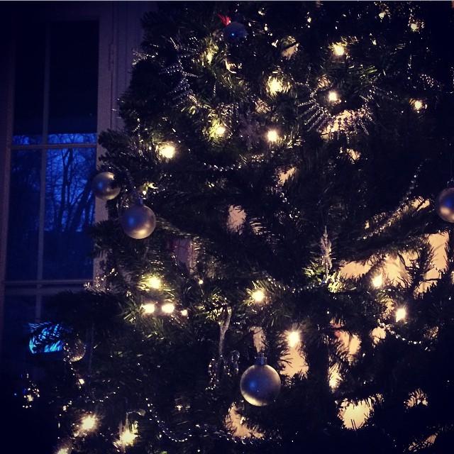 Enjoying my tree :)