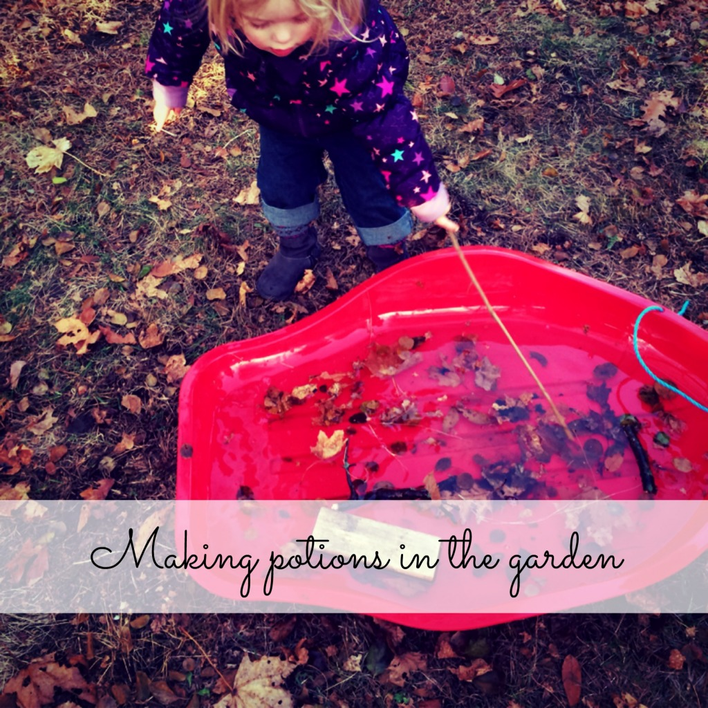 Country Kids: making potions in the garden