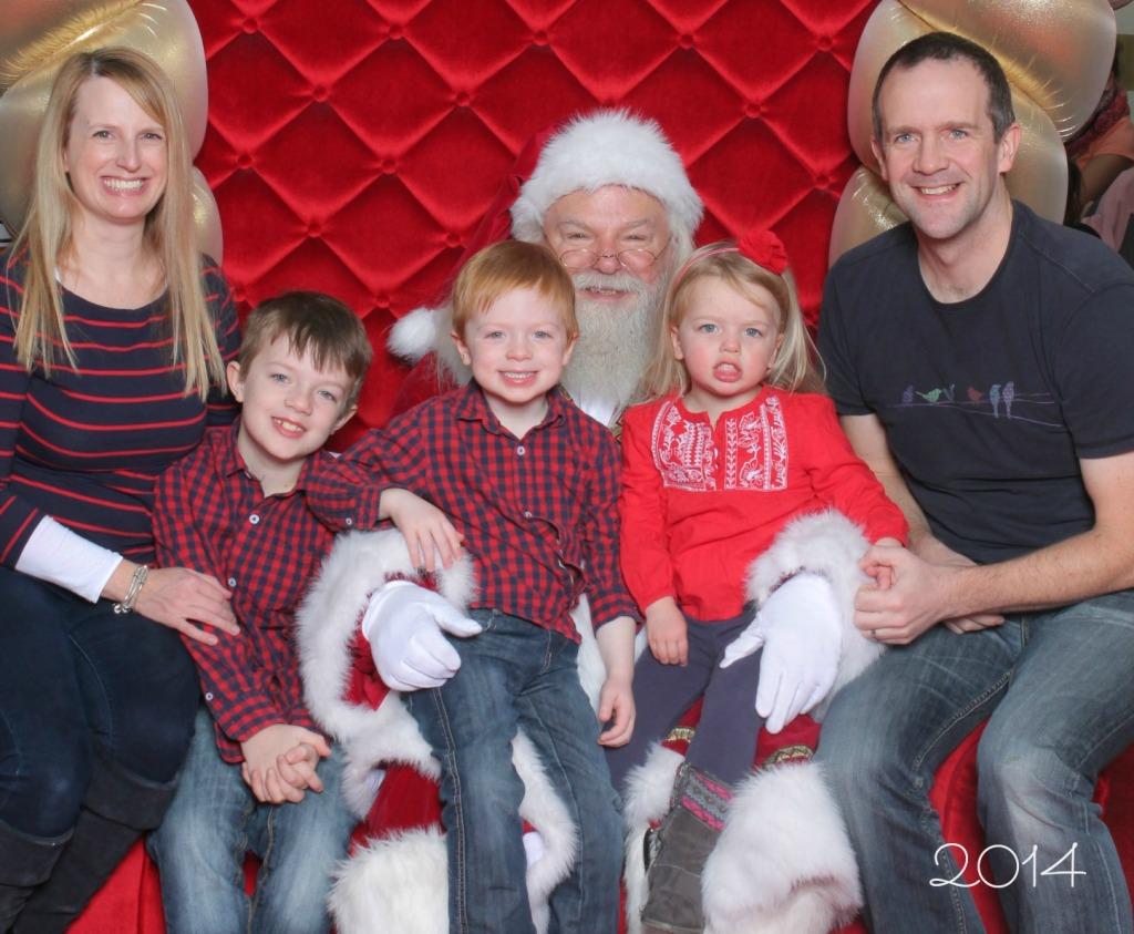 Santa Photo 2014