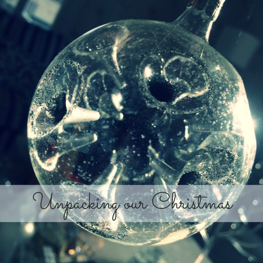 Unpacking our Christmas