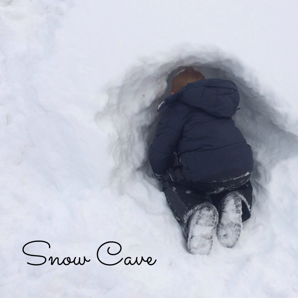 Country Kids Snow Cave