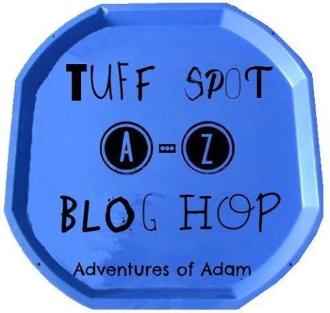 Tuff Spot A-Z Blog Hop Logo
