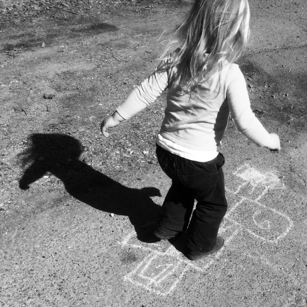 Black and White Photography Project: Hopscotch