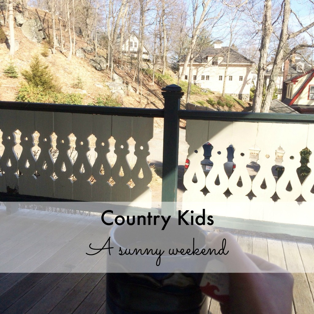 Country Kids: a sunny weekend