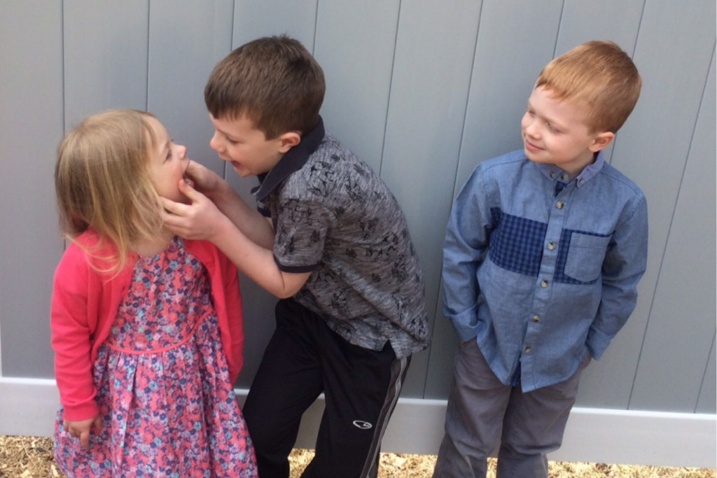 Siblings April 1