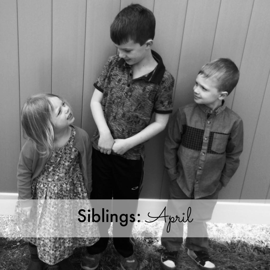 Siblings April 2015