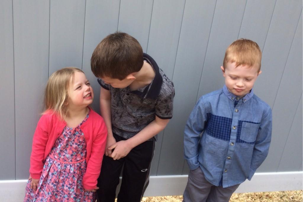 Siblings April 7