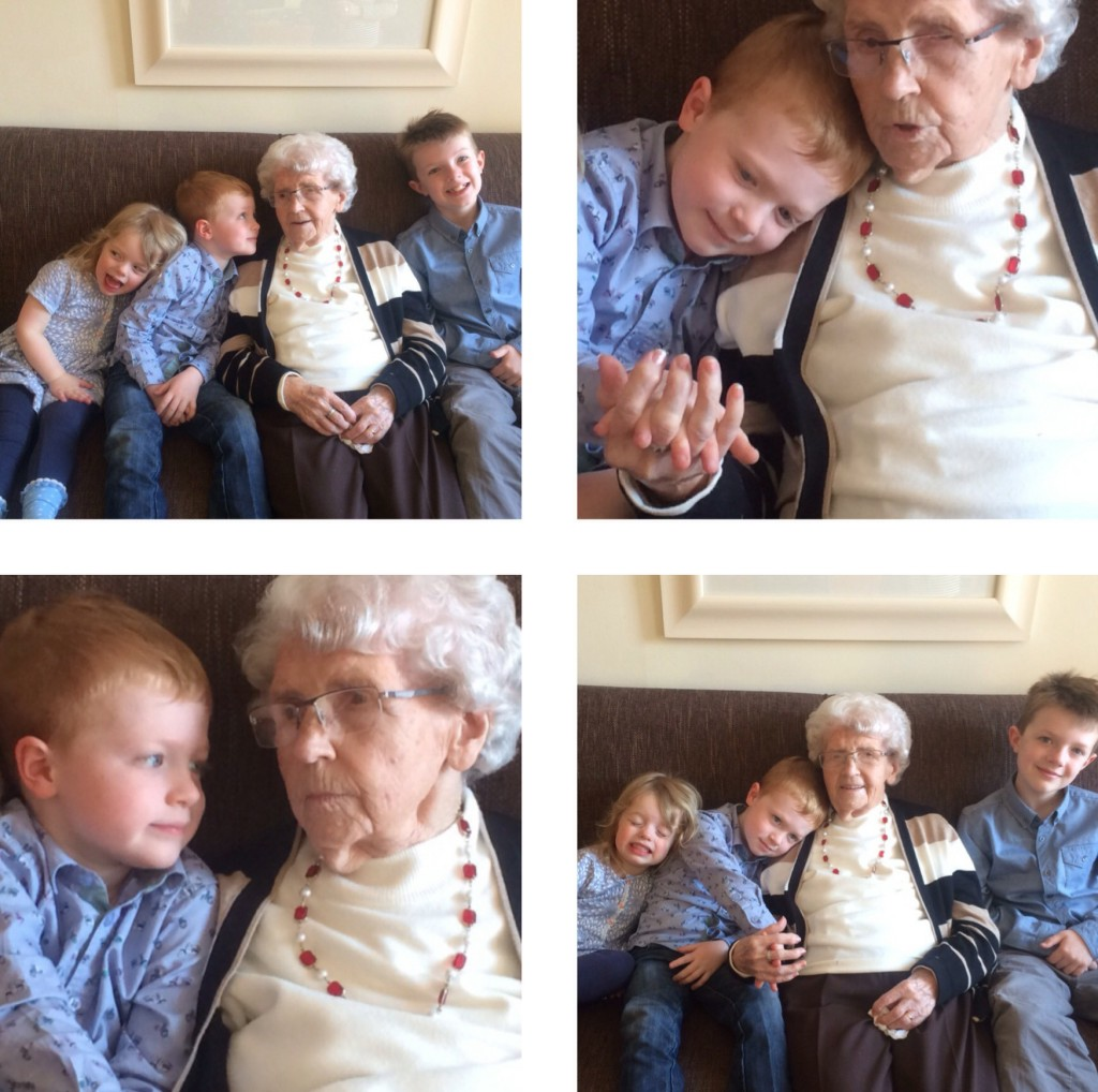 Childhood moments with Great Granny