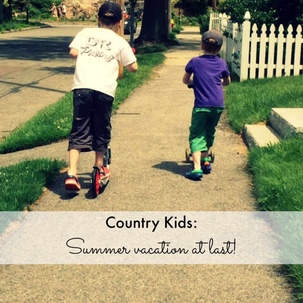 Country Kids: summer vacation at last!