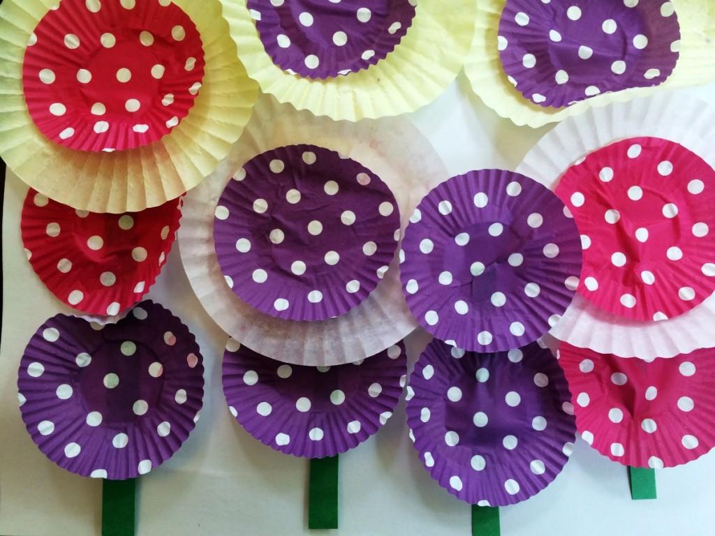Cupcake Case Flowers 6