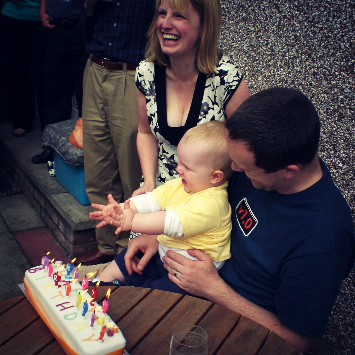 Rewind: a first 1st birthday